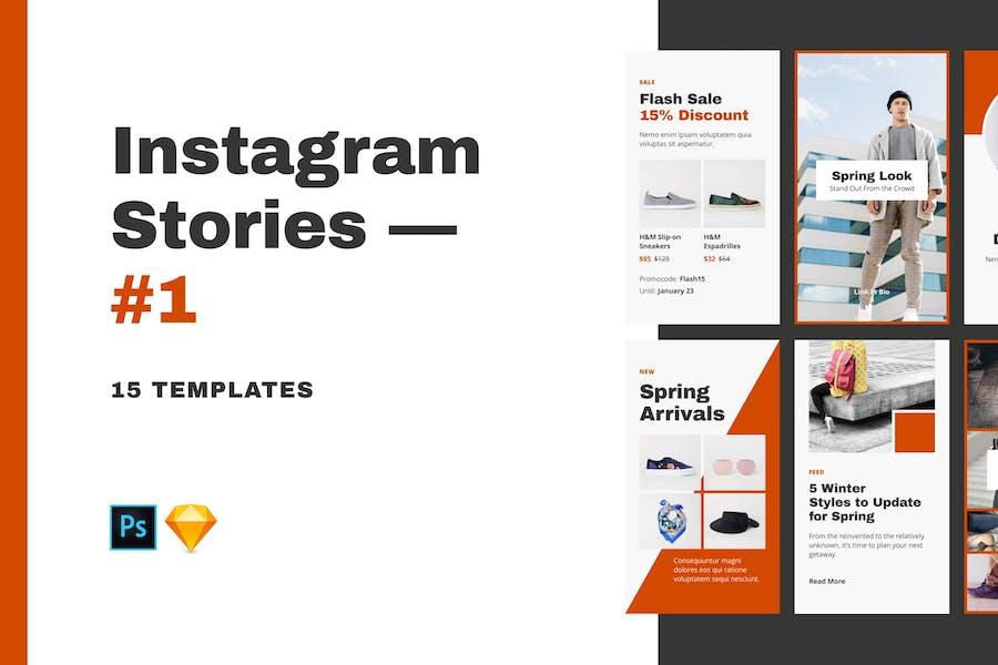Instagram Stories — #1