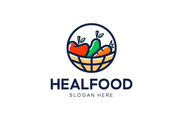 Fresh Healthy Food Logo