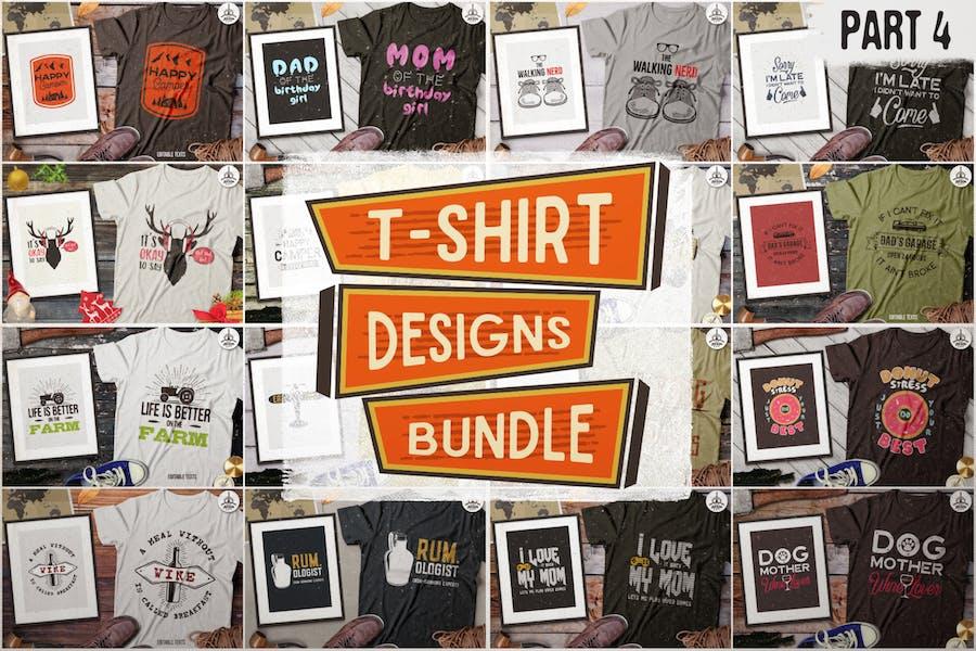 T-Shirt Designs Retro Collection. Part 4