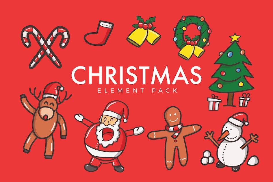 Christmas Vector von micromove auf Envato Elements