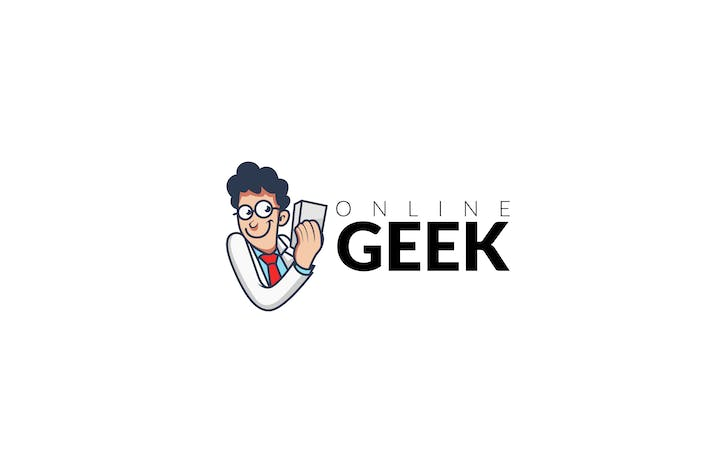 Thumbnail for Geek Logo Template