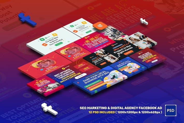 SEO Marketing & Digital Agency Facebook Ad
