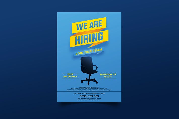 Thumbnail for We Are Hiring Flyer