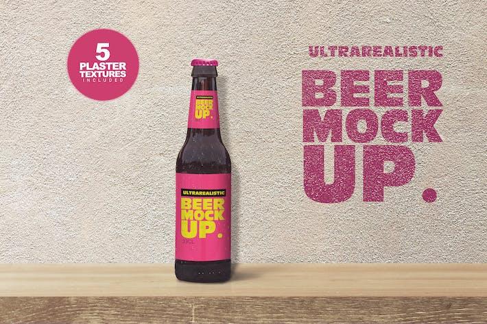 Shelf Beer Mockup