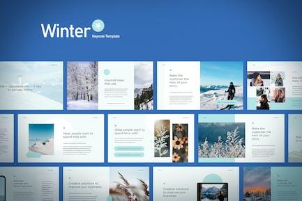 Winter - Keynote Template