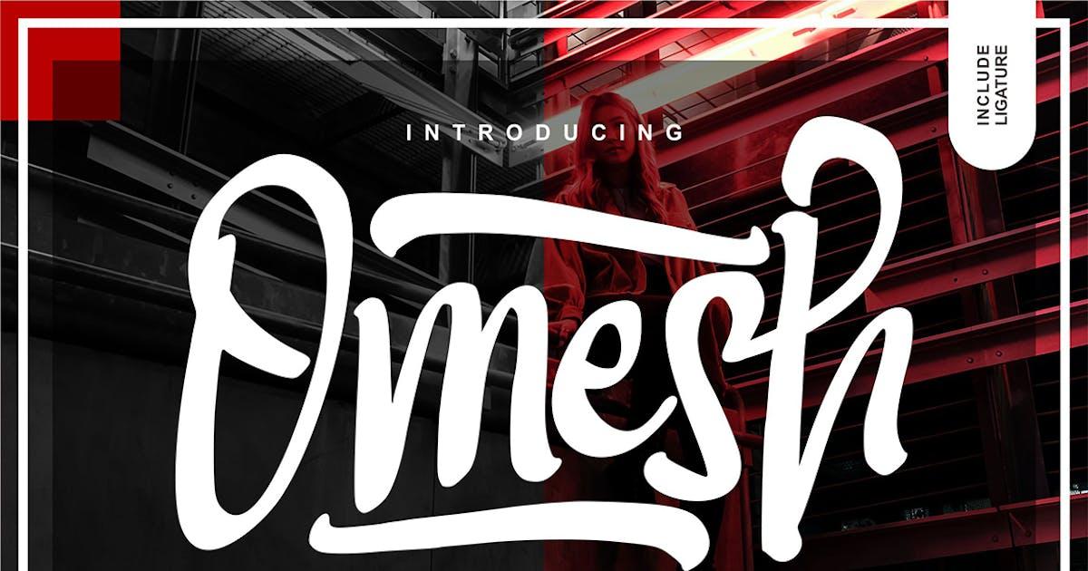 Download Omesh Handwriting Typeface by Fannanstudio
