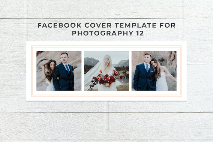 Thumbnail for Facebook Cover Template Set 12