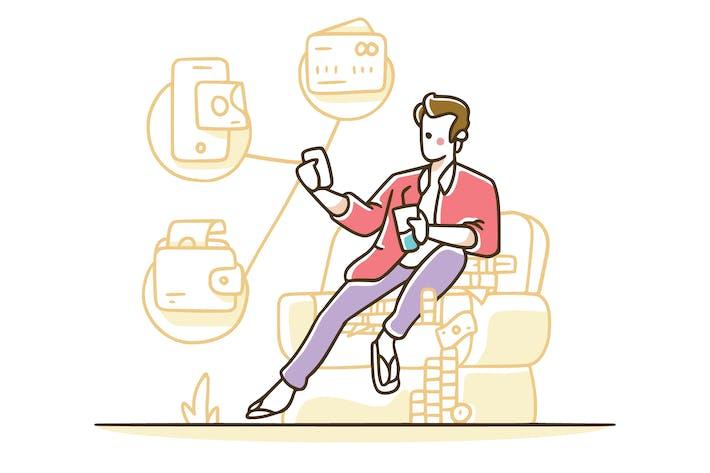 Tokostore - Abbildung der Zahlungsmethode