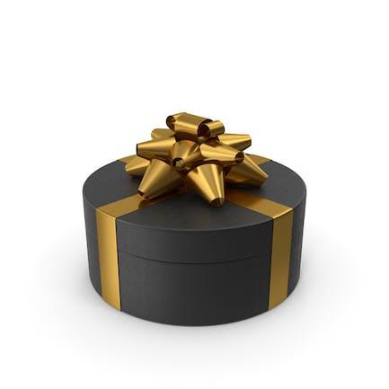 Ring Geschenkbox Schwarz Gold