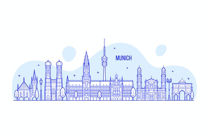 Thumbnail for Munich skyline
