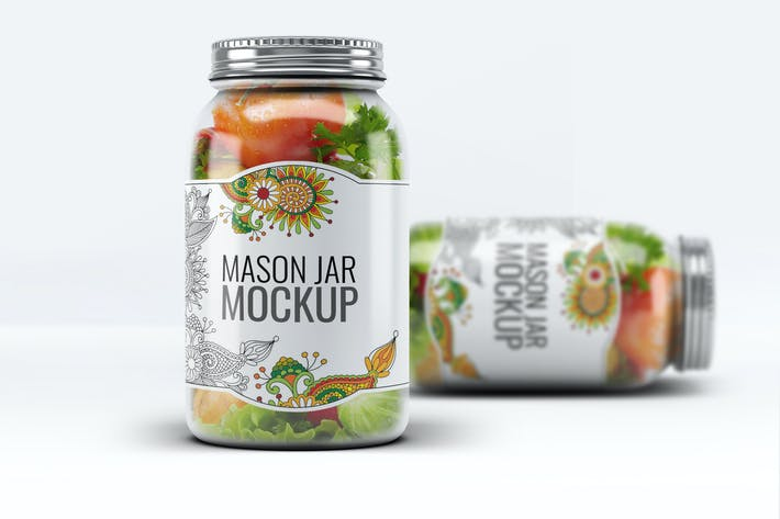 Thumbnail for Mason Jar Mock-Up V.1