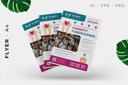 Charity / Fund Raising Flyer Design