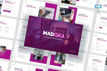 Madoka - Technology Corporate Keynote Template