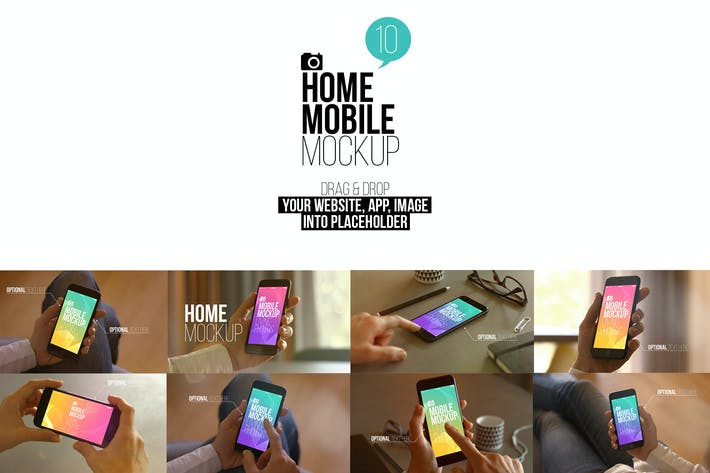 Thumbnail for Home Mobile Mockup