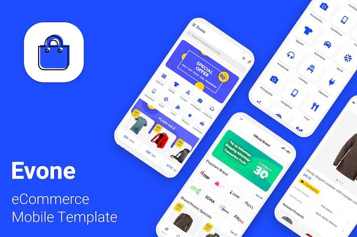 Thumbnail for Evone - Plantilla móvil de tienda y tienda de comercio electrónico