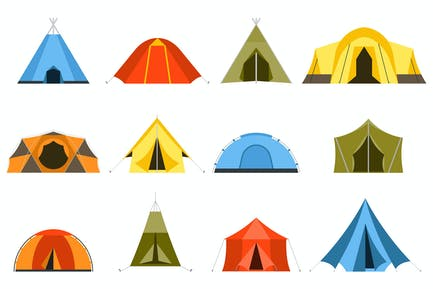 Tourist Camping Tents Collection