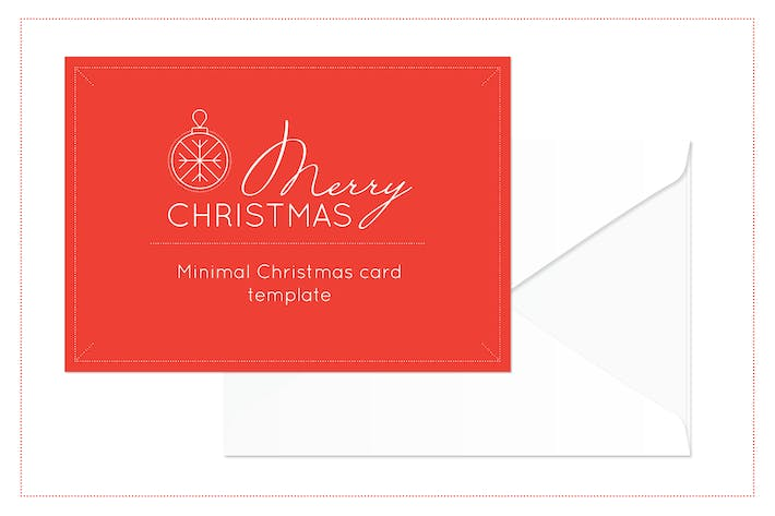 Thumbnail for Merry Christmas Card Templates