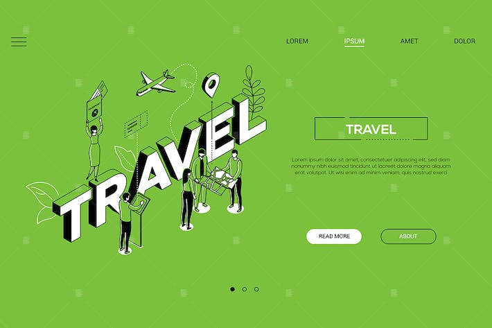 Thumbnail for Traveling time landing page