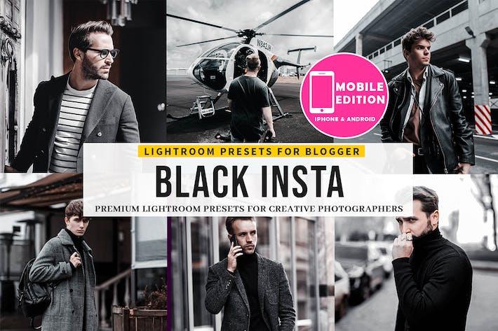Thumbnail for Black Insta Lightroom Presets