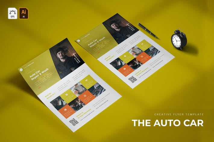 Thumbnail for Auto Car | Flyer