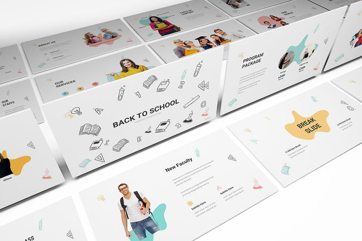 Thumbnail for Back To School Powerpoint Template