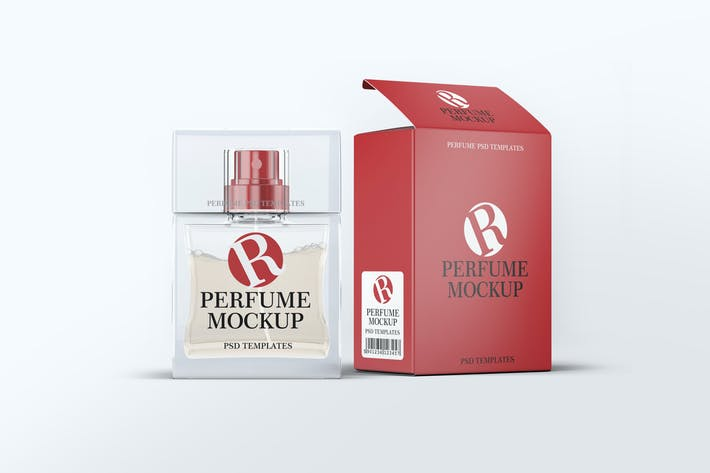 Thumbnail for Perfume Mock-Up