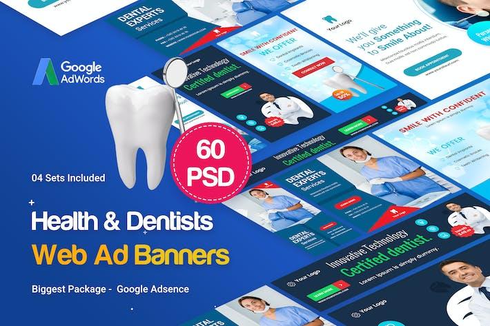 Thumbnail for Health & Dentist Banner Set