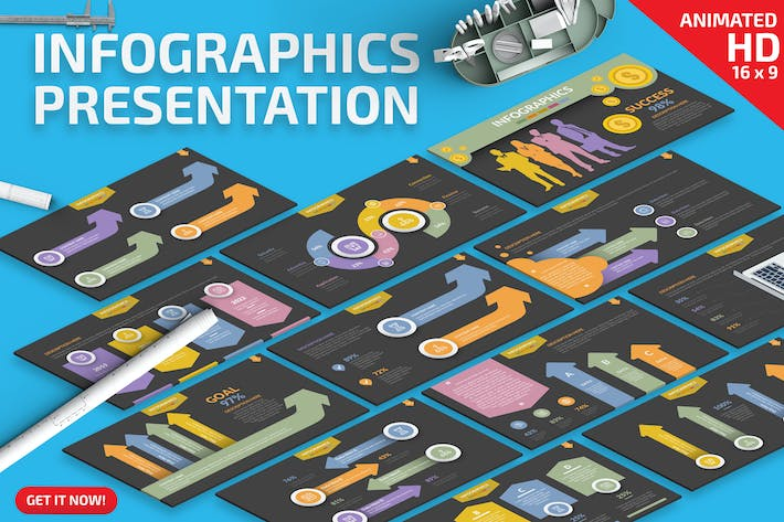 Thumbnail for Infographics Powerpoint