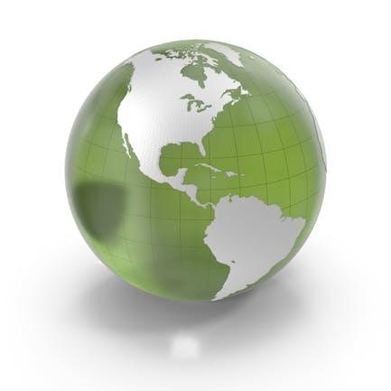 Green Glass Earth