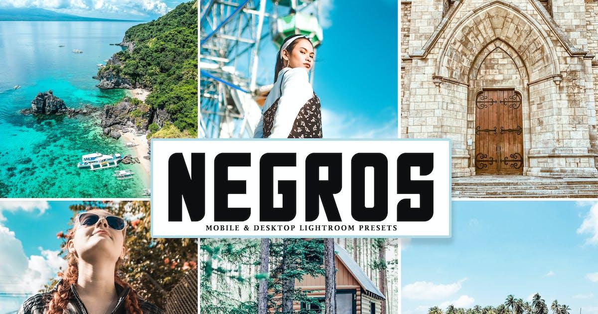 Download Negros Mobile & Desktop Lightroom Presets by creativetacos