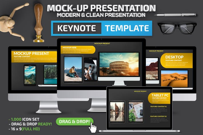 Thumbnail for Mock-up Keynote Presentation