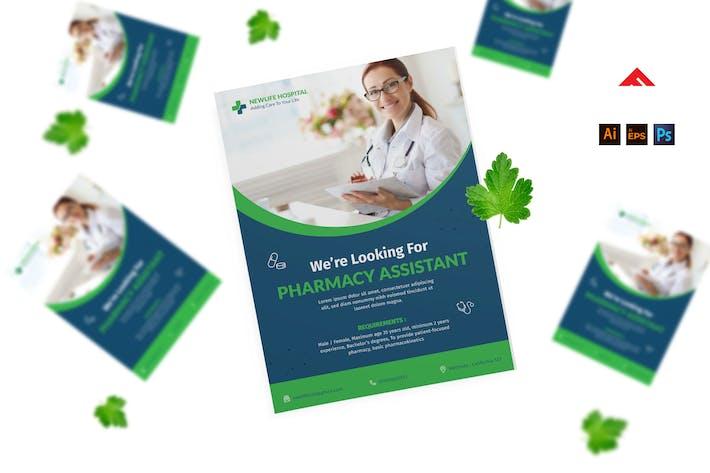 Thumbnail for Pharmacy Job Hiring Advertisement