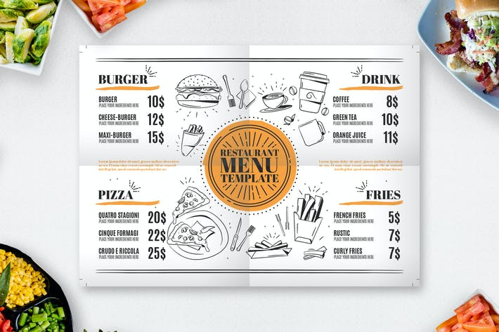 "Download 14,704 ""restaurant menu template"" - Envato Elements"