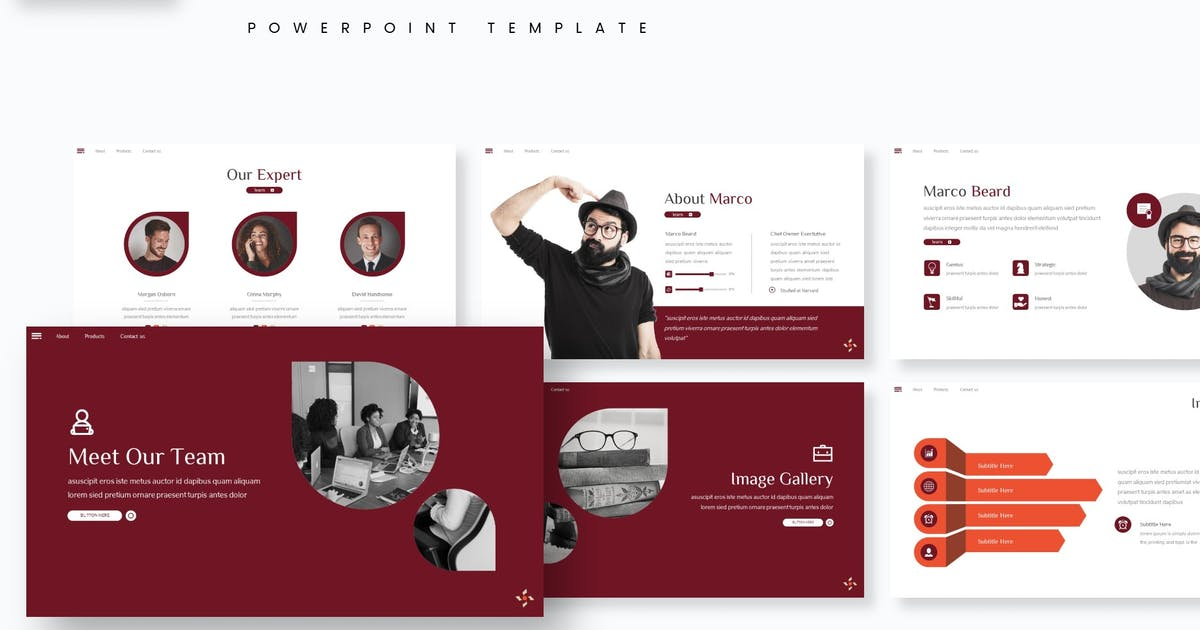 Download Zorich - Powerpoint Template by aqrstudio