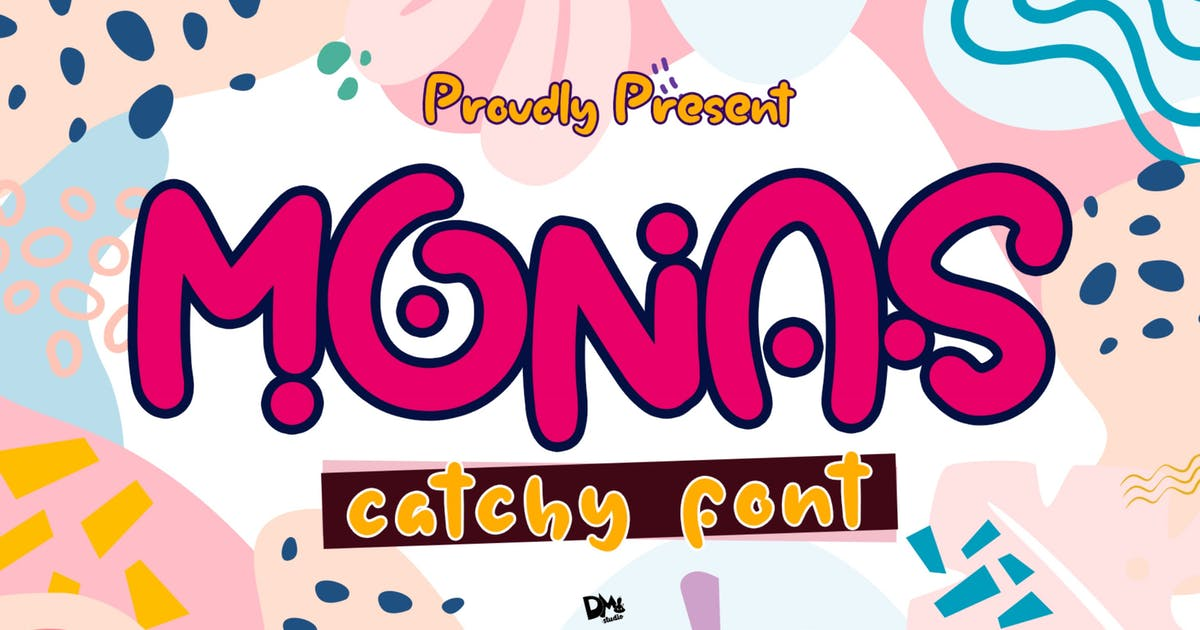 Download Monas - Catchy Font by DmLetter