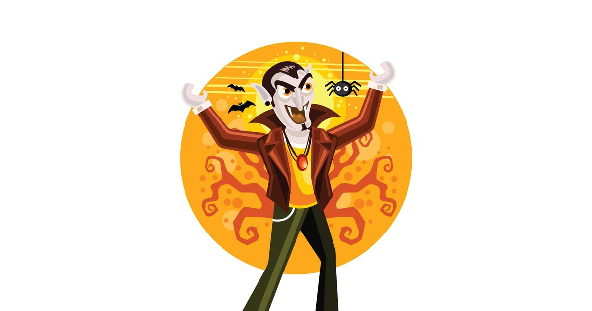 Download Dracula Vampir Halloween Illustration by IanMikraz
