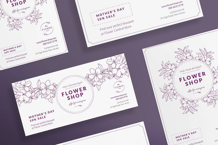 Thumbnail for Flower Shop Flyer and Poster Template