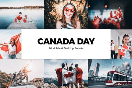 20 Canada Day Lightroom Presets & LUTs