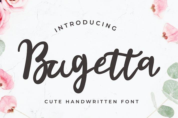 Bugetta Handwriting Font