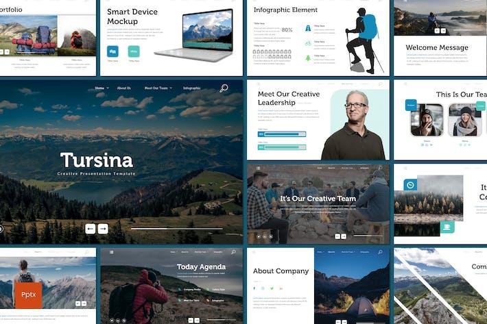 Thumbnail for Tursina - Powerpoint Template