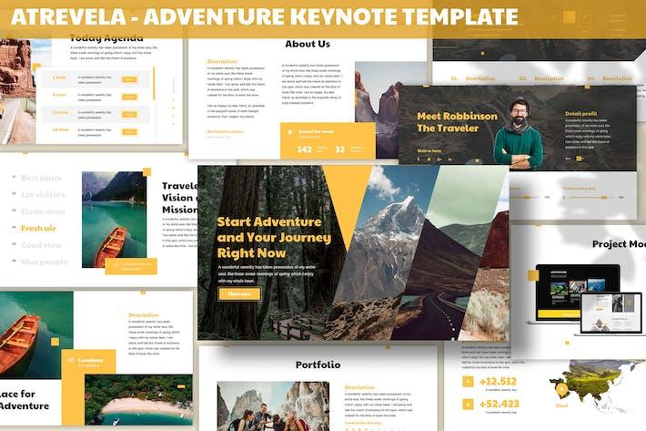Thumbnail for Atravela - Adventure Keynote Template
