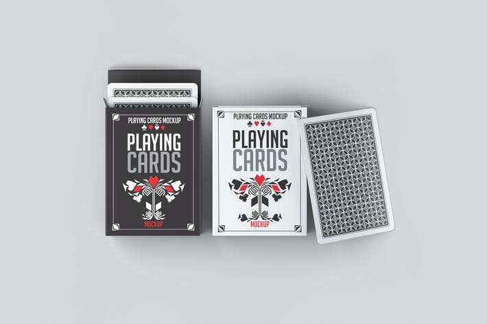 Thumbnail for Playing Cards Mock-Up
