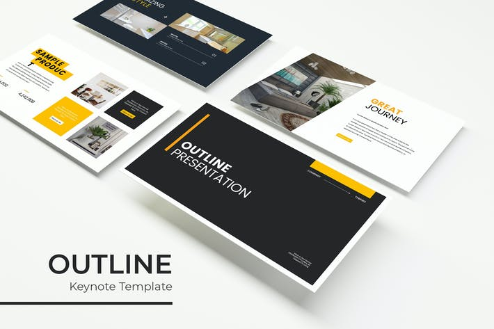 Cover Image For Outline - Keynote Template