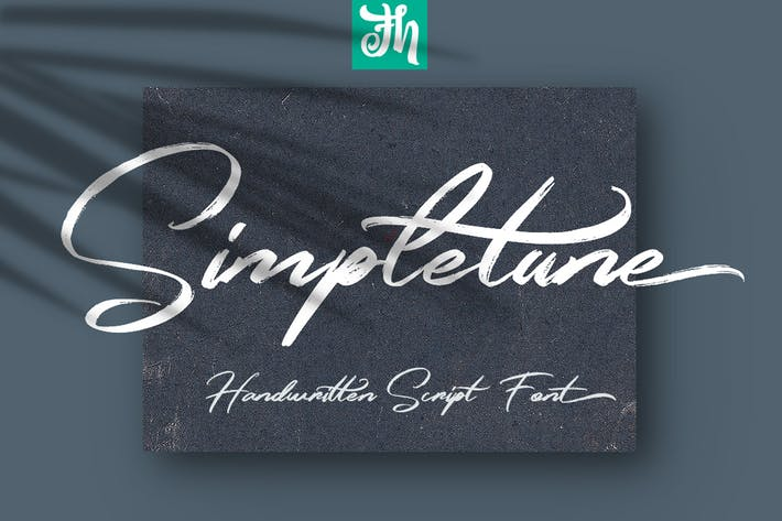 Thumbnail for Simpletune - Handwritten Script Font