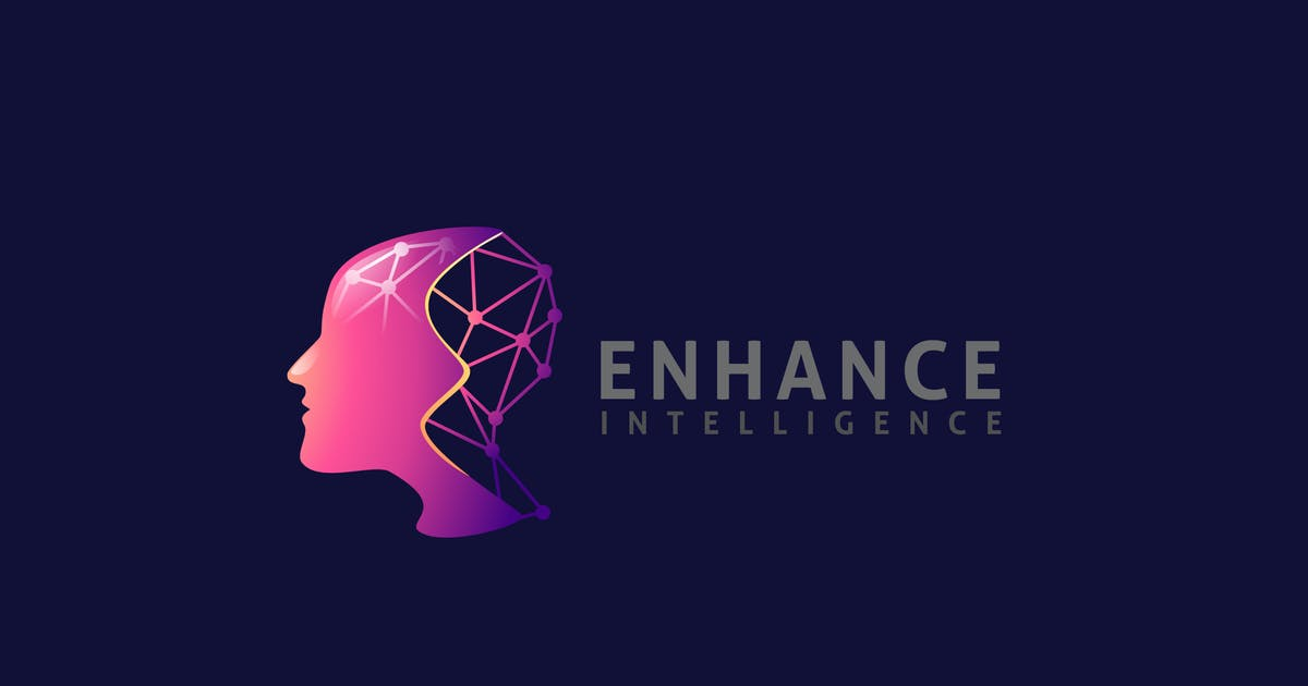 Download Human Brain and Artificial Intelligence Logo by Suhandi