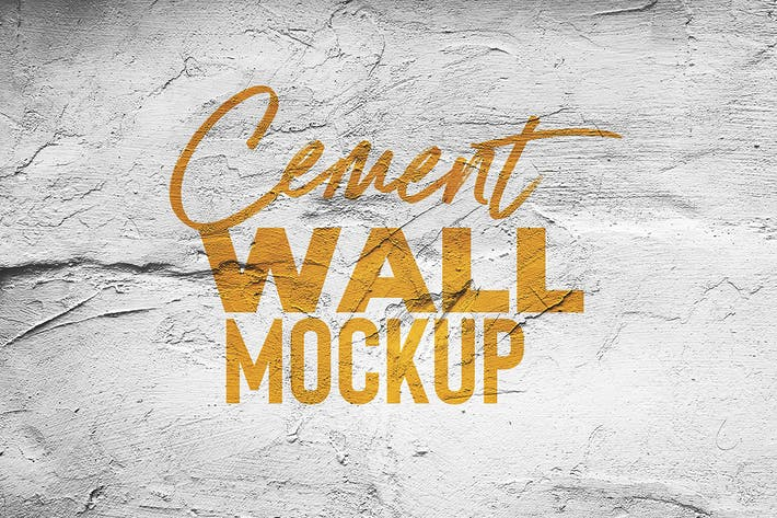 Thumbnail for Zement Wand Mock Up