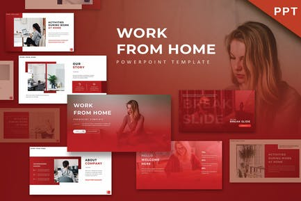 WFH - Powerpoint Template