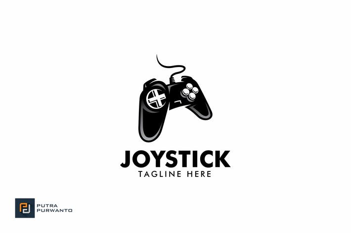 Thumbnail for Joystick - Logo Template