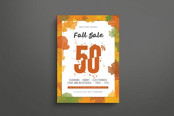 Thumbnail for Fall Sale