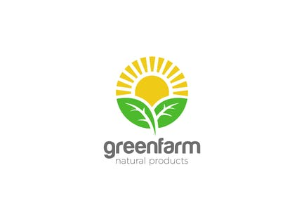 Logo Sun Green Organic Eco Natural Farm products